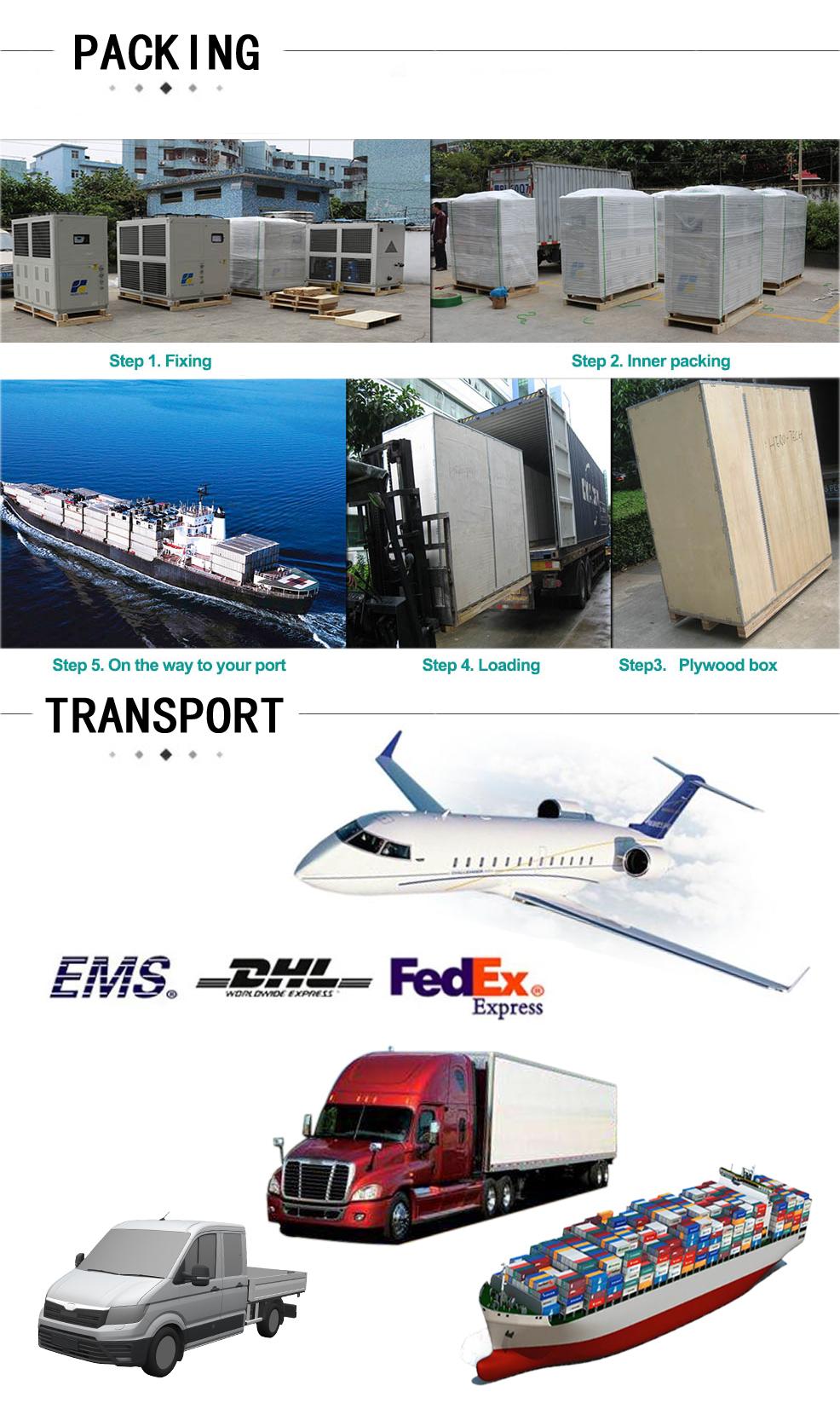 Packing shipment
